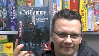 Oriflamme (Pegasus Spiele) - ab 10 Jahre - ratz fatz erklärt aber auch gut?