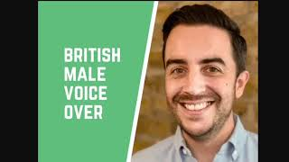 I will record a professional british male voice over