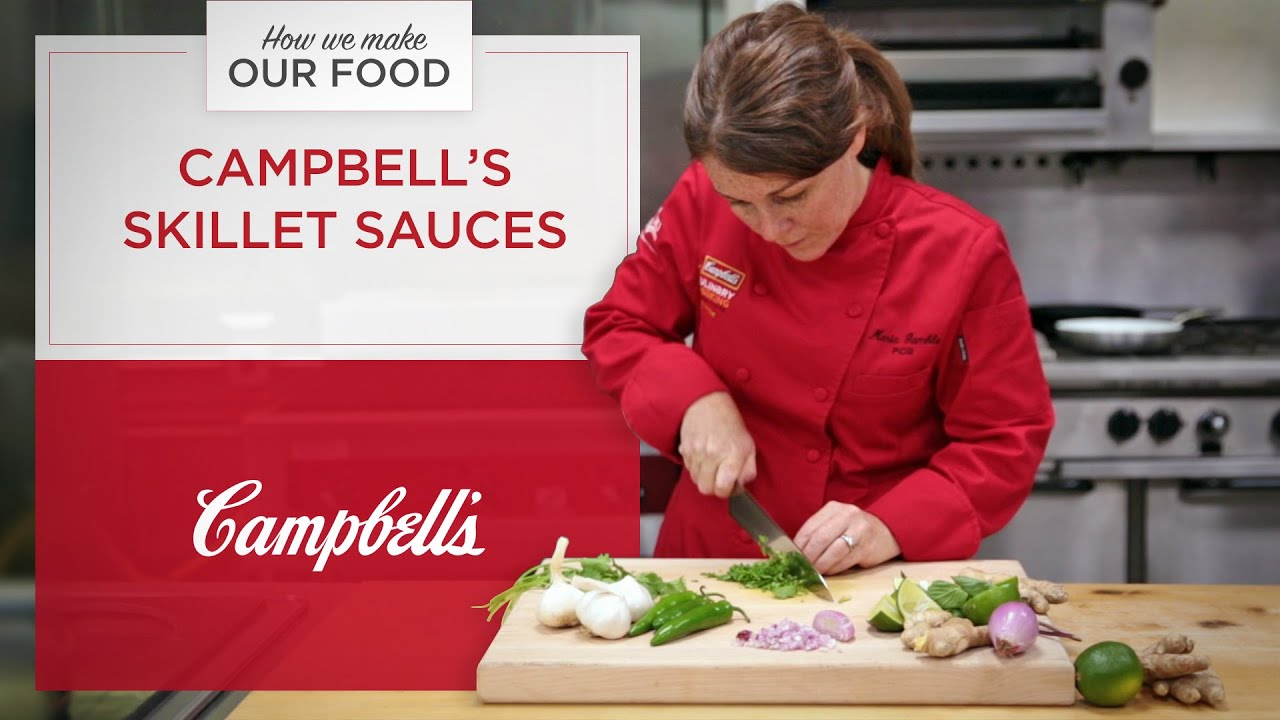 How We Make Our Food: Campbell's Skillet Sauces