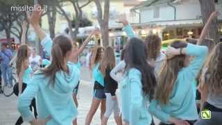 Miss Italia 2015 backstage flashmob