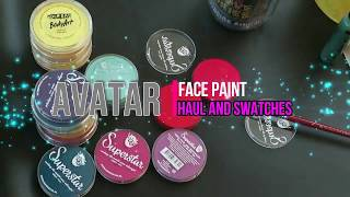 Super excited with my face paint haul