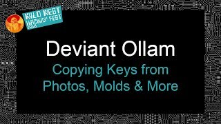Copying Keys from Photos, Molds & More
