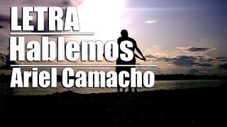 Hablemos De Ariel Camacho - Letra 2016 Banda.