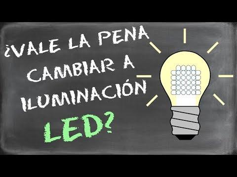 ¿Vale la pena cambiar a iluminación con bombillas LED?