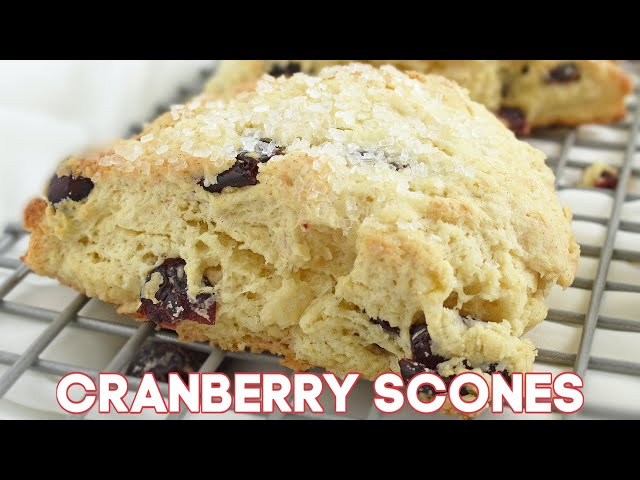 Cranberry Scones (VIDEO)