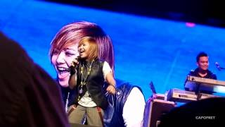 Charice - Lesson for life, Infinity Concert Singapore