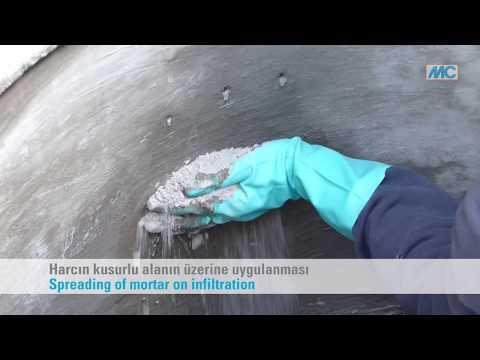 Ombran IW Hurtighærdende mørtel, 10 kg. spand
