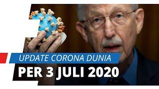 Update Corona Dunia per 3 Juli 2020, Hampir Tembus 11 Juta Jiwa, Amerika Catat 131 Ribu Kematian
