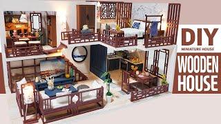 DIY Miniature Dollhouse KitㅣWOODEN HOUSEㅣ우든하우스ㅣ미니어처하우스ㅣ박소소(soso Miniature)