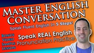 How to sound like native English speakers! - Speak REAL English lesson PREVIEW!