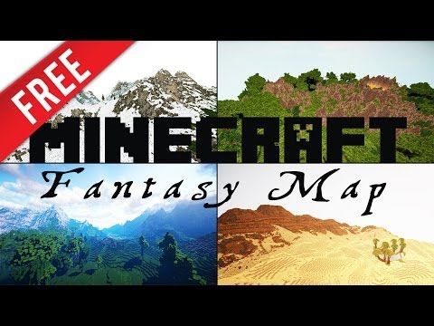 Free fantasy map worldmachine multiple biomes 4x4k minecraft project free fantasy map worldmachine multiple biomes 4x4k gumiabroncs Choice Image