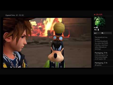 Donavon Pullen: Kingdom Hearts 3 Livestream