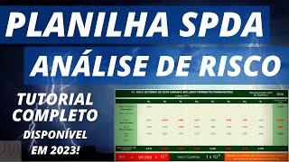 Planilha SPDA - Gerenciamento de Risco - ABNT NBR 5419-2:2015