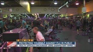 Gym prepares for flu