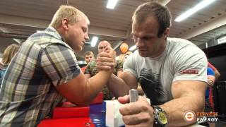 Денис Цыпленков. Армрестлинг в клубе Фитнес Энерджи (г.Орёл)