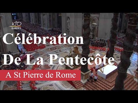 Messe de la Solennité de la Pentecôte