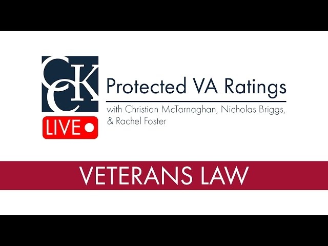 Protected VA Disability Ratings: When VA Cannot Reduce Ratings