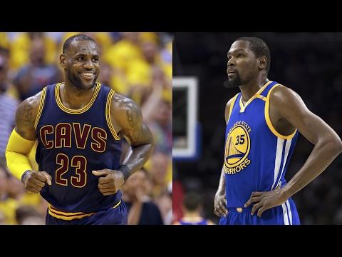 Cavs' LeBron James says Warriors' Kevin Durant is 'dangerous'