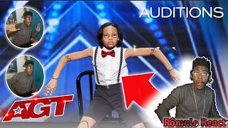 Kid Dancer Noah Epps Delivers Cool Marionette Performance - America's Got Talent 2020[React-Analise]