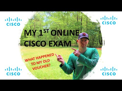 Cisco - My First Online Exam - YouTube