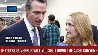 "Gavin Newsom ""Fully Committed"" to Shutting Down Aliso Canyon Gas Storage Plant"