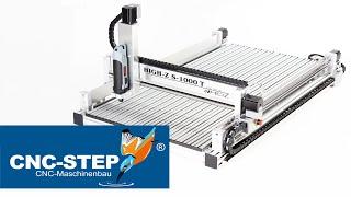 Günstige kleine Industrie - CNC Fräsmaschine in Top Qualität - Für Messing, Alu, Stahl, Kunststoff, Holz  ➤➤ Warum belasten Sie Ihr kostenintensives 4-Achs Fräszentrum noch mit Kleinkram ?