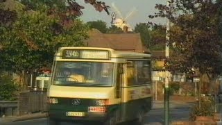 preview picture of video 'Buses Trains Windmill Near Upminster Bridge Stn'