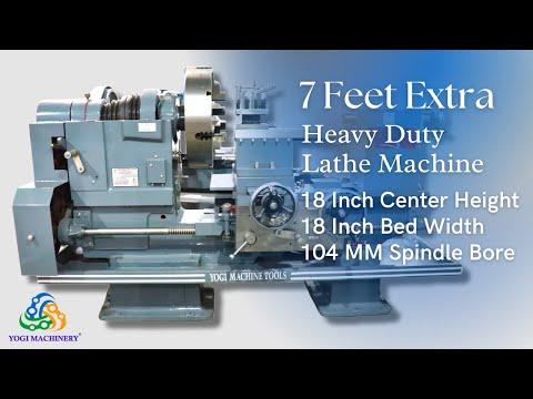 7 Feet Extra Heavy Duty Lathe Machine