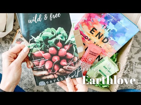 Earthlove Unboxing Spring 2021