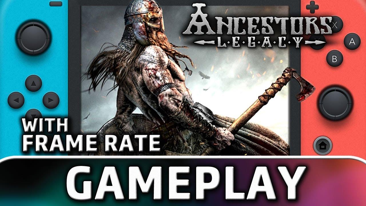 Ancestors Legacy | Nintendo Switch Gameplay & Frame Rate