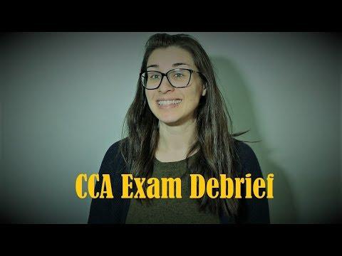 CCA Exam Debrief! - YouTube