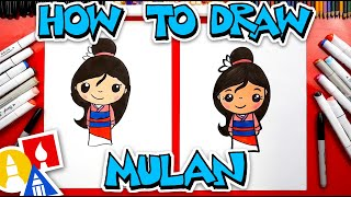 How To Draw Mulan
