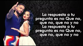 Becky G, Maluma   La Respuesta (LetraLyric)