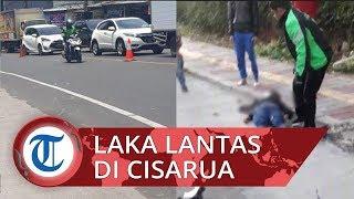 Sepeda Motor Oleng Sebabkan Laka Lantas di Jalan Cisarua, Dua Wanita Sempat Terkapar