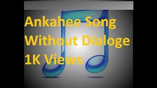 Ankahee song without dialogs from Tanhaiyan Hotstar star plus