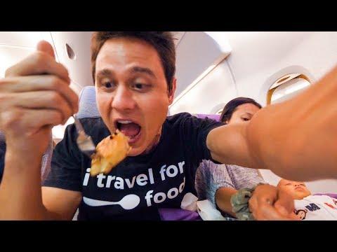 Emirates Airline FOOD REVIEW – Bangkok to Dubai  to Munich | Layover at Dubai International Airport