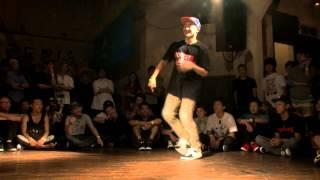 涼宮あつき(WASEDABREAKERS) Vs WINGZERO(FOUNDNATION) DANCE@LIVE 2014 BREAK Kanto Vo.1【SEMIFINAL】
