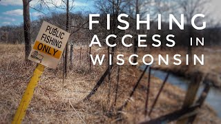Wisconsin Trout Fishing Stream Access - How to Find Public Access