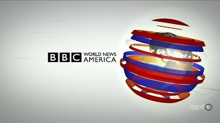BBC World News America from LA - Virtual Studio
