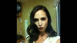 Eliza Dushku sur le tournage de White Collar