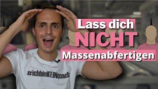 Eric Steigner u. Matthias Niggehoff äußern sich gegen Fließband Coaching und Massen Zoom Calls!