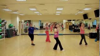"Cha Cha ""Banca Banca"" by E-Type. Cardio Dance Choreography."