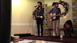 The Arkells Live Acoustic - Kiss Cam Kitchener ON
