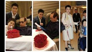 賭王何鴻燊97歲大壽三個房妻兒女相繼賀壽,何猷君送招股書最特別