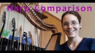 Harp Comparison: Ravenna 34, Harpsicle, and Mikel 38