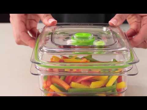 Cómo usar los recipientes para envasar al vacío