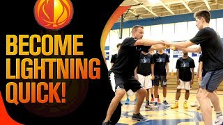 Top 2 Drills For LIGHTNING Quick Basketball Reactions