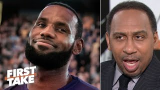 Stephen A.'s only hope for LeBron and the Lakers: https://www.youtube.com/watch?v=v2is0wrF1BA&t Stephen A. Smith says LeBron James should make the decision if he should keep playing for the Los Angeles Lakers or load manage so there are no excuses later in the season. #FirstTake #NBA  ✔ Subscribe to ESPN+ https://plus.espn.com/ ✔ Get the ESPN App: http://www.espn.com/espn/apps/espn ✔ Subscribe to ESPN on YouTube: http://es.pn/SUBSCRIBEtoYOUTUBE ✔ Subscribe to ESPN FC on YouTube: http://bit.ly/SUBSCRIBEtoESPNFC ✔ Subscribe to NBA on ESPN on YouTube: http://bit.ly/SUBSCRIBEtoNBAonESPN ✔ Watch ESPN on YouTube TV: http://es.pn/YouTubeTV  Exclusive interviews with Rachel Nichols https://urlzs.com/jNURe Stephen A. Smith on ESPN https://urlzs.com/W19Tz  ESPN on Social Media: ► Follow on Twitter: http://www.twitter.com/espn ► Like on Facebook: http://www.facebook.com/espn ► Follow on Instagram: www.instagram.com/f/espn  Visit ESPN on YouTube to get up-to-the-minute sports news coverage, scores, highlights and commentary for NFL, NHL, MLB, NBA, College Football, NCAA Basketball, soccer and more.   More on ESPN.com: https://www.espn.com