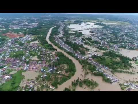 Live Drone Banjir Terparah di Bengkulu