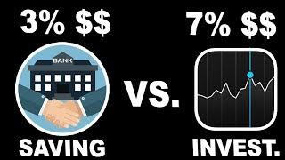 Savings Account vs Stock Market | Where to Put your Money